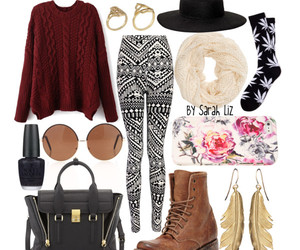 autumn, outfit, and sweater weather image