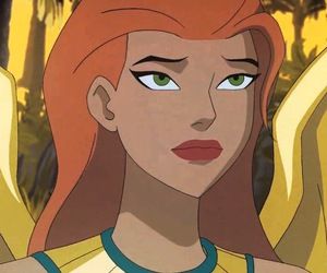 justice league unlimited, shayera hol, and hawkgirl image