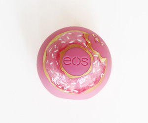 donut, eos, and lip balm image