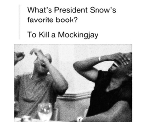 the hunger games, book, and funny image