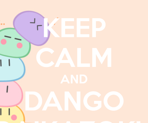 anime, kawaii, and dango image