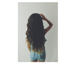 beauty, hair, and tumbler image