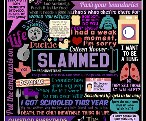 slammed, book, and colleen hoover image