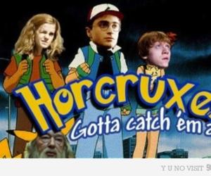 harry potter, pokemon, and horcruxes image