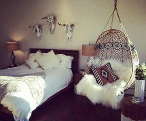 bed, cowboy, and room image