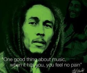 bob marley, music, and quote image