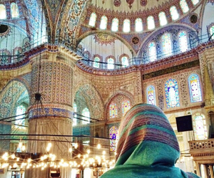 allah, mosque, and hijab image