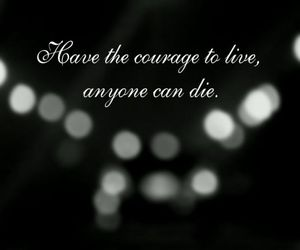brave, words, and courage image