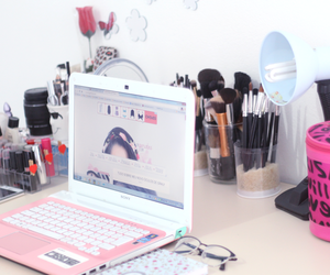 blogger, decor, and home office image
