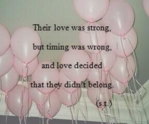 love, tumblr, and balloons image