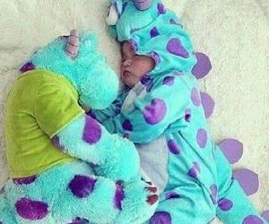 baby, cute, and monster image