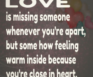 distance, missing, and Relationship image