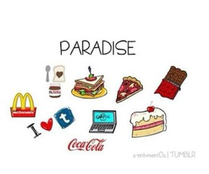 paradise, food, and tumblr image