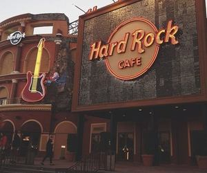 cafe, hard rock, and hard rock cafe image