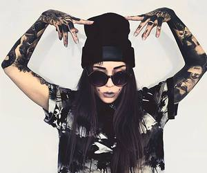 tattoo, black, and monami frost image