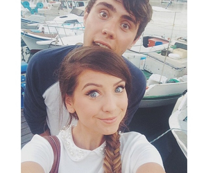 zalfie, zoella, and alfie image