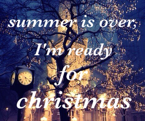 summer, christmas, and snow image