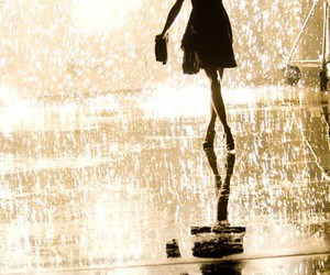 girl, rain, and Taylor Swift image