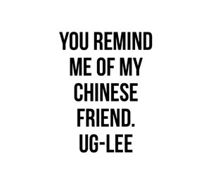 chinese, friend, and quote image