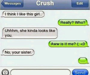 confession, crush, and down image