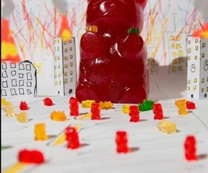 gummy bears attack image
