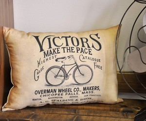 bicycle, pillow, and pillow case image