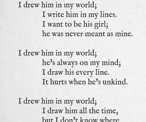 him, poem, and quote image