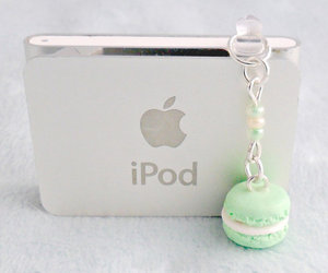 charm, dust, and ipod image
