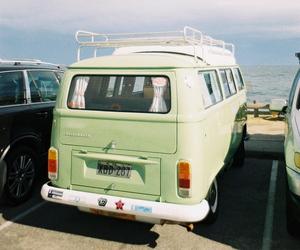 summer, beach, and van image