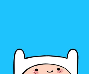 wallpaper, adventure time, and finn image