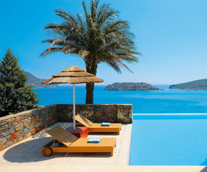 pool, beach, and paradise image