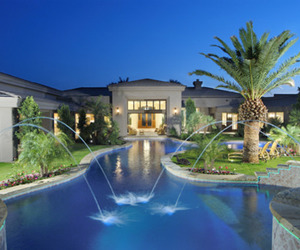 luxury, house, and expensive image