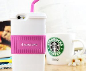 iphone, case, and americano image