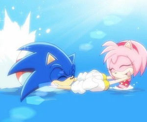 beach, daydream, and Sonic the hedgehog image