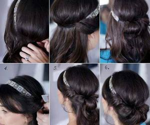 diy, cute, and hairstyle image