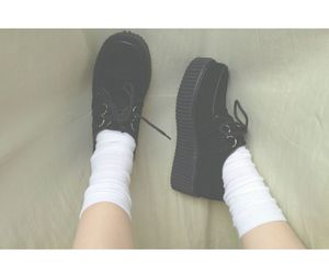creepers, lolita, and soft grunge image