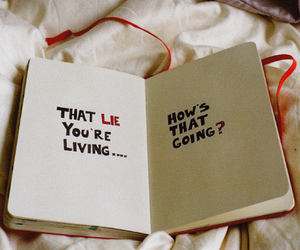 lies, quotes, and book image