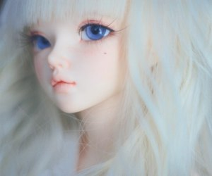 doll, bjd, and white image