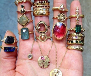 crystals, hippie, and stones image