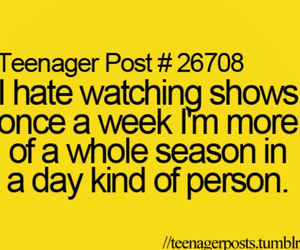 show and teenager post image