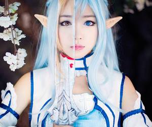 cosplay, sao, and asuna image