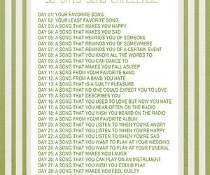 challenge, 30days, and music image