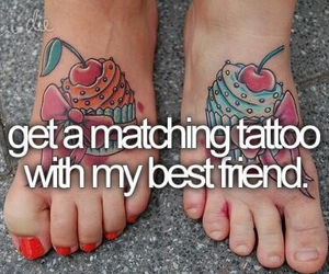 tattoo, before i die, and best friend image
