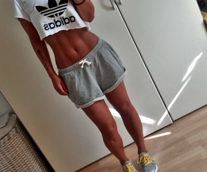 fitness, adidas, and body image