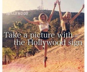 hollywood, bucket list, and friends image