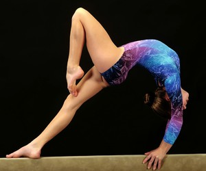 beautiful, leotards, and blue image