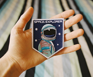 space, astronaut, and cool image
