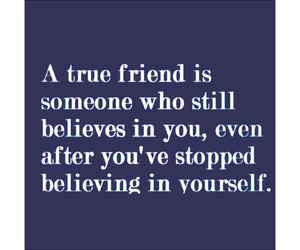 friend, bestfriend, and believe in you image
