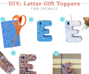 diy, gift, and sprinkle image