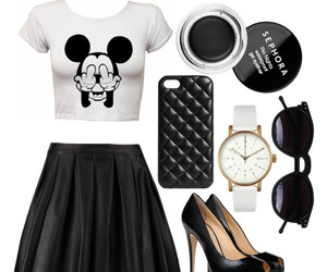 black, sephora, and sunglasses image